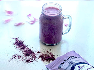 Super Purple Protein Smoothie Recipe