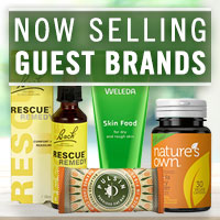 Now selling guest brands