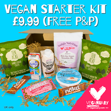 Veganuary Starter Kit