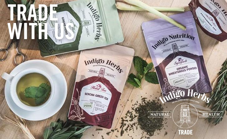Indigo Herbs - Trade - Trade with Us