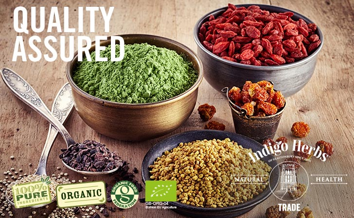 Indigo Herbs - Trade - Quality Assured