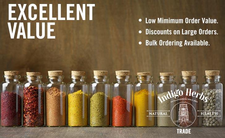 Indigo Herbs - Trade - Excellent Value