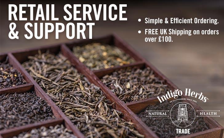 Indigo Herbs - Trade - Retail Service & Support