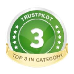 Trust pilot reviews - No 2 for Nutrition