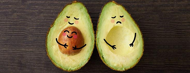 Happy Pregnant Avocado