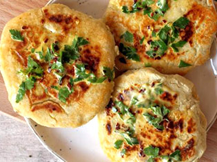 Gluten-free Vegan Garlic Flatbreads Recipe
